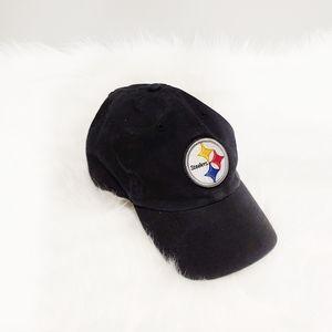 Steelers '47 Clean Up Baseball Hat